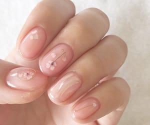 nails, art, and pink image