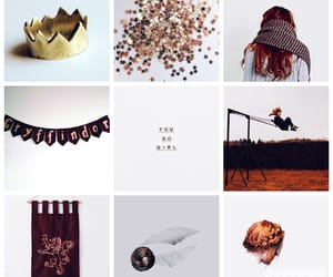 aesthetic, ginny, and gold image