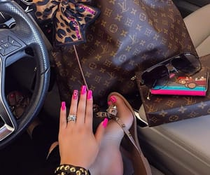 bags, pink, and swag image