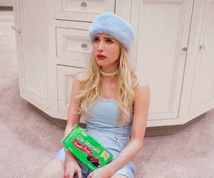 emma roberts, scream queens, and gif image