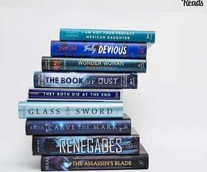 blue, renegades, and books image