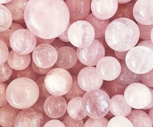 pink, aesthetic, and crystal image