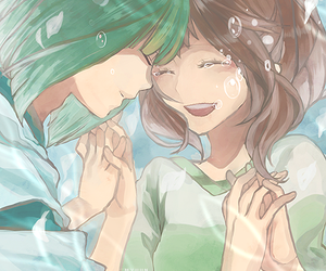 chihiro, spirited away, and water image