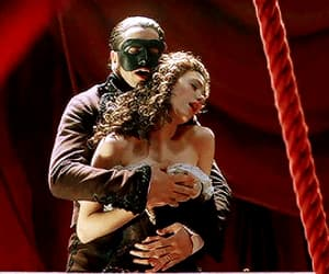 book, romance, and The Phantom of the Opera image