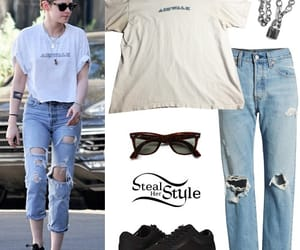 actress, kristen stewart, and steal her style image