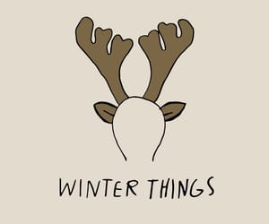 christmas, winter, and winter things image
