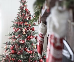 christmas, decorations, and house image