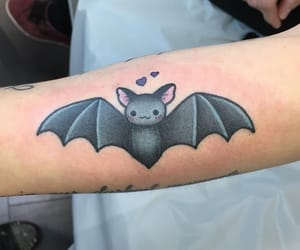 bat, tat, and tattoo design image