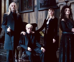harry potter, draco malfoy, and malfoy image
