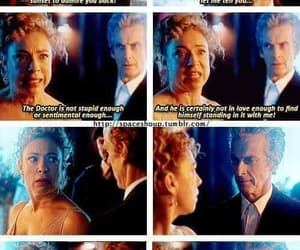 christmas, river song, and 12th doctor image