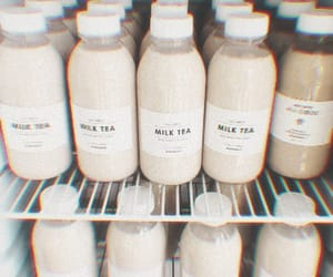 aesthetic, milk, and drink image