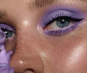 beauty, eyeshadow, and face image