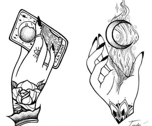 tattoo, Tattoos, and witch image