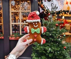christmas, christmas tree, and santa image