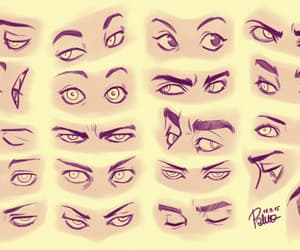 eyes, sketch, and how to draw image