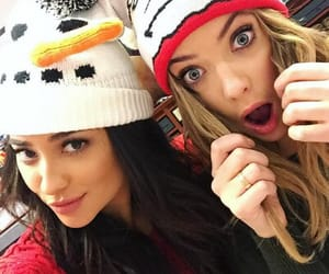 pll, ashley benson, and shay mitchell image