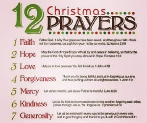 christmas, prayer, and quotes image