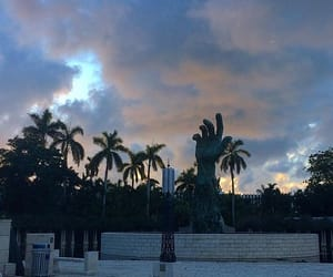 florida, hand, and monument image