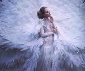 fantasy, white, and dress image