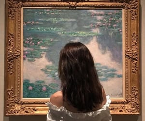 art, museum, and monet image