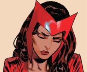 scarlet witch, Marvel, and wanda maximoff image