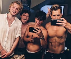 the vamps, tristan evans, and band image