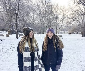 cold, london, and friends image
