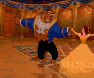 beauty and the beast, disney, and beast image