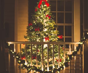 christmas tree, december, and happy holidays image