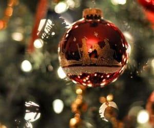 christmas, tree, and red image