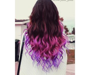 beautiful, ombre, and pink hair image
