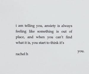 anxiety, anxious, and empty image