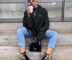 fashion, streetwear, and influencer image