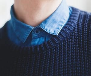 aesthetic, sweater, and blue image