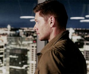 dean winchester, michael, and supernatural image