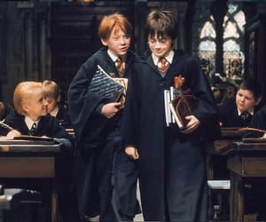 harry potter, movie, and ron image