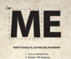 we, Relationship, and me image