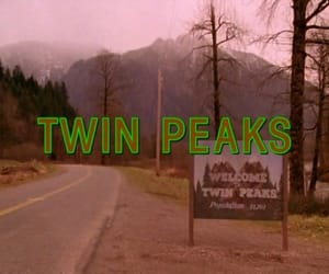Twin Peaks, 90s, and david lynch image
