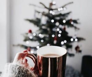 christmas, holidays, and tea image