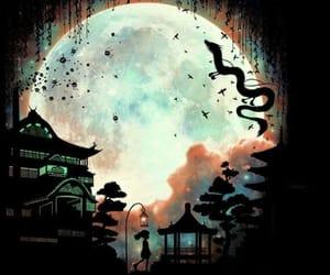 beautiful, chihiro, and moon image
