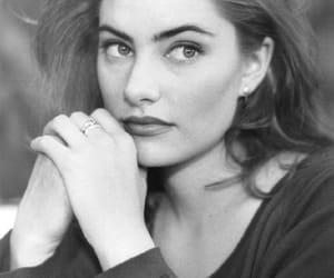 actress, beauty, and black and white image