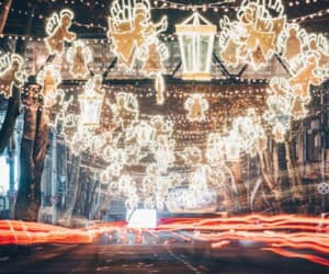 Georgia, lights, and new year image