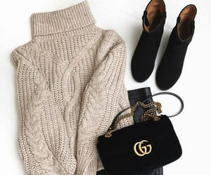shoes, sweater, and bag image