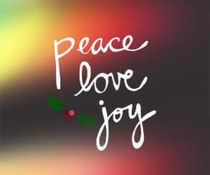 christmas, love, and joy image