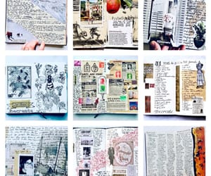 collage art, diary, and journaling image
