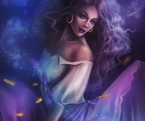 art, beautiful, and esmeralda image