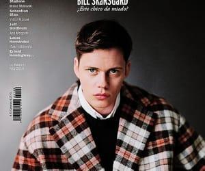 bill skarsgård, actor, and magazine image