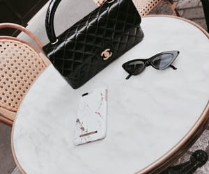 bag, cafe, and chanel image
