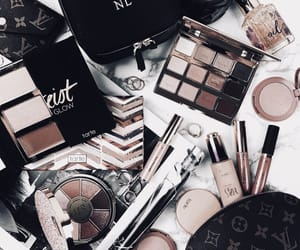 makeup, cosmetics, and vogue image