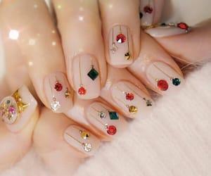 manicure, nailart, and polishnails image